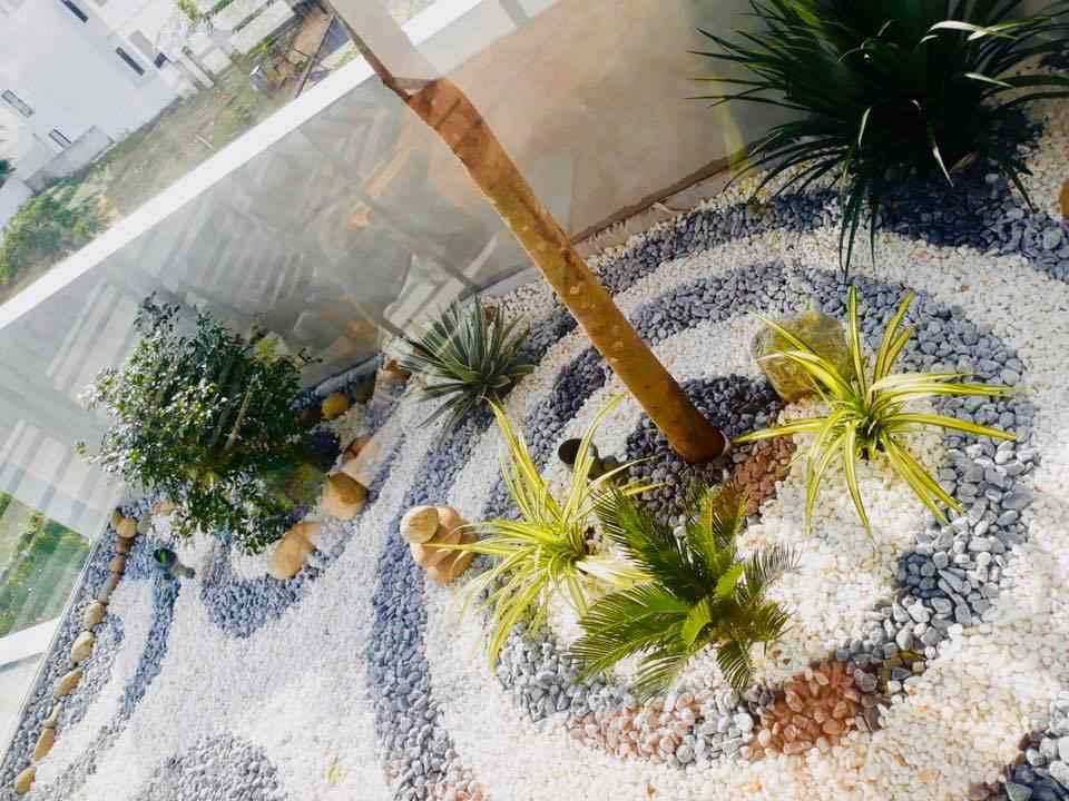 Tiểu Cảnh Zen Garden tại Euro Villa 2 - Đà Nẵng.