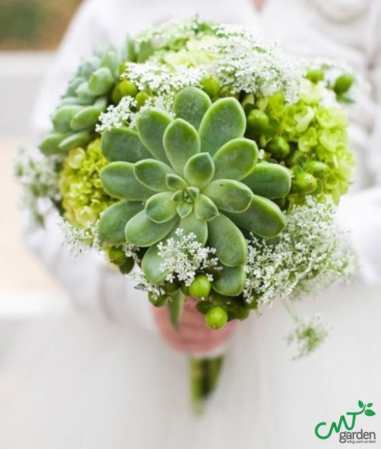 Hoa cưới cô dâu cực kỳ độc đáo